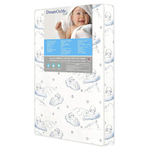 "Dream On Me 3"" Pocket Coil Mini / Portable Crib Mattress"