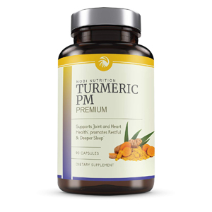 Nobi Nutrition Turmeric Curcumin Sleep Aid with Melatonin